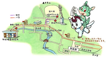 Mushi Walk 5: the area around the statue of Astro boy in Hanno-city, Saitama (No.1) (photo14)