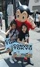 Astro boy appeared at an opening event for CONVEX new store in Harajuku. (photo01)