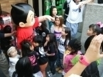 Astro boy appeared at an opening event for CONVEX new store in Harajuku. (photo03)