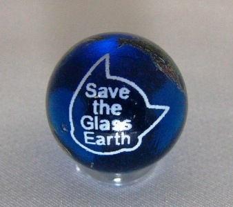 "-New Product Information- Earth Marble ""Save the Glass Earth"" only available at Tezuka Osamu Manga Museum (photo01)"