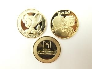 New Product Information  Incused Medals only available at Kyoto International Manga Museum (photo01)