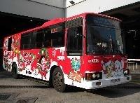 Tezuka characters buses run in Hong Kong (photo01)