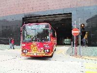 Tezuka characters buses run in Hong Kong (photo04)