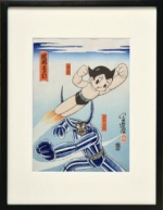 New Product Information Tezuka Characters in Ukiyoe Prints! (photo01)