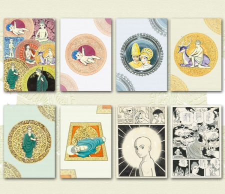 Information about the products distributed at the Exhibition: Tezuka Osamu's Buddha at Tokyo National Museum (photo01)
