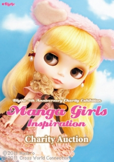 Blythe 9th Anniversary Charity Exhibition: Manga Girls Inspiration is held. (photo01)