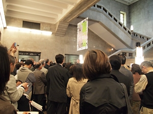 The Opening Ceremony for the Exhibition: Tezuka Osamus Buddha was held at Tokyo National Museum. (photo03)