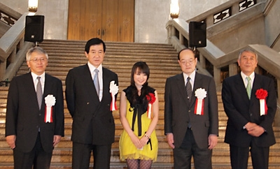 The Opening Ceremony for the Exhibition: Tezuka Osamus Buddha was held at Tokyo National Museum. (photo04)