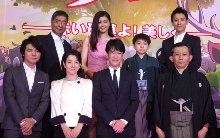 "The Premier of ""Thhe movie: Tezuka Osamu's Buddha"" was held! (photo01)"