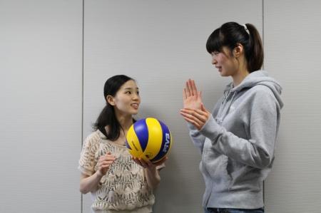 Volley ball X Ballet