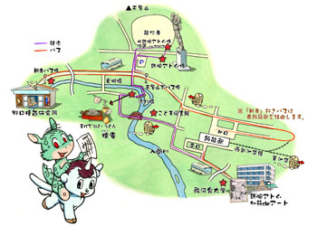 Mushi Walk 6: the area around the statue of Astro boy in Hanno-city, Saitama (No. 2) (photo16)